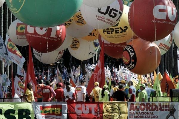 Centrais Sindicais entregam nesta quarta manifesto de apoio a Haddad