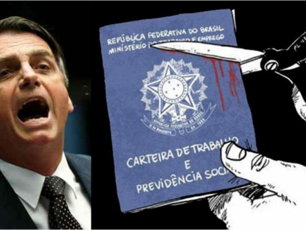 Governo Bolsonaro quer que novos trabalhadores abram mão de direitos