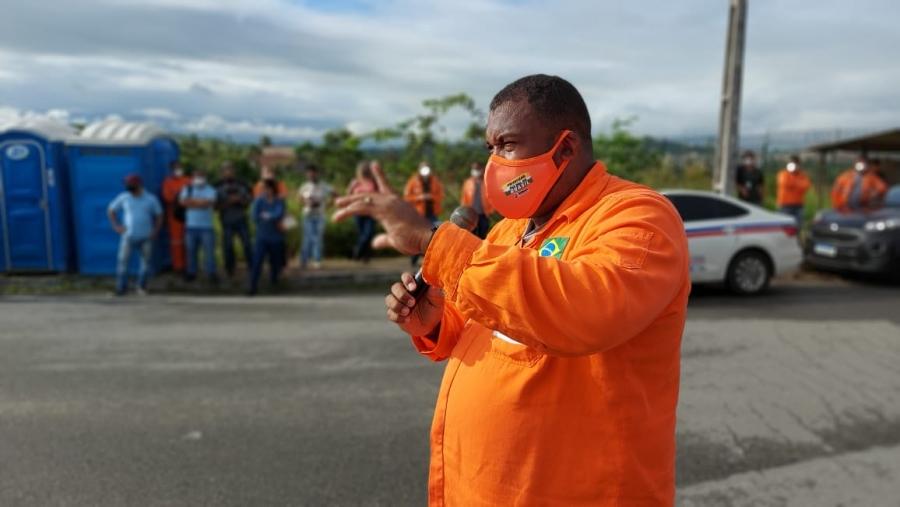 Ato Unificado na Bahia marca 14º dia da greve dos trabalhadores da Petrobras Biocombustível