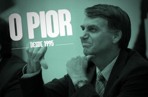 Popularidade de Bolsonaro despenca e já é a pior dos últimos 24 anos